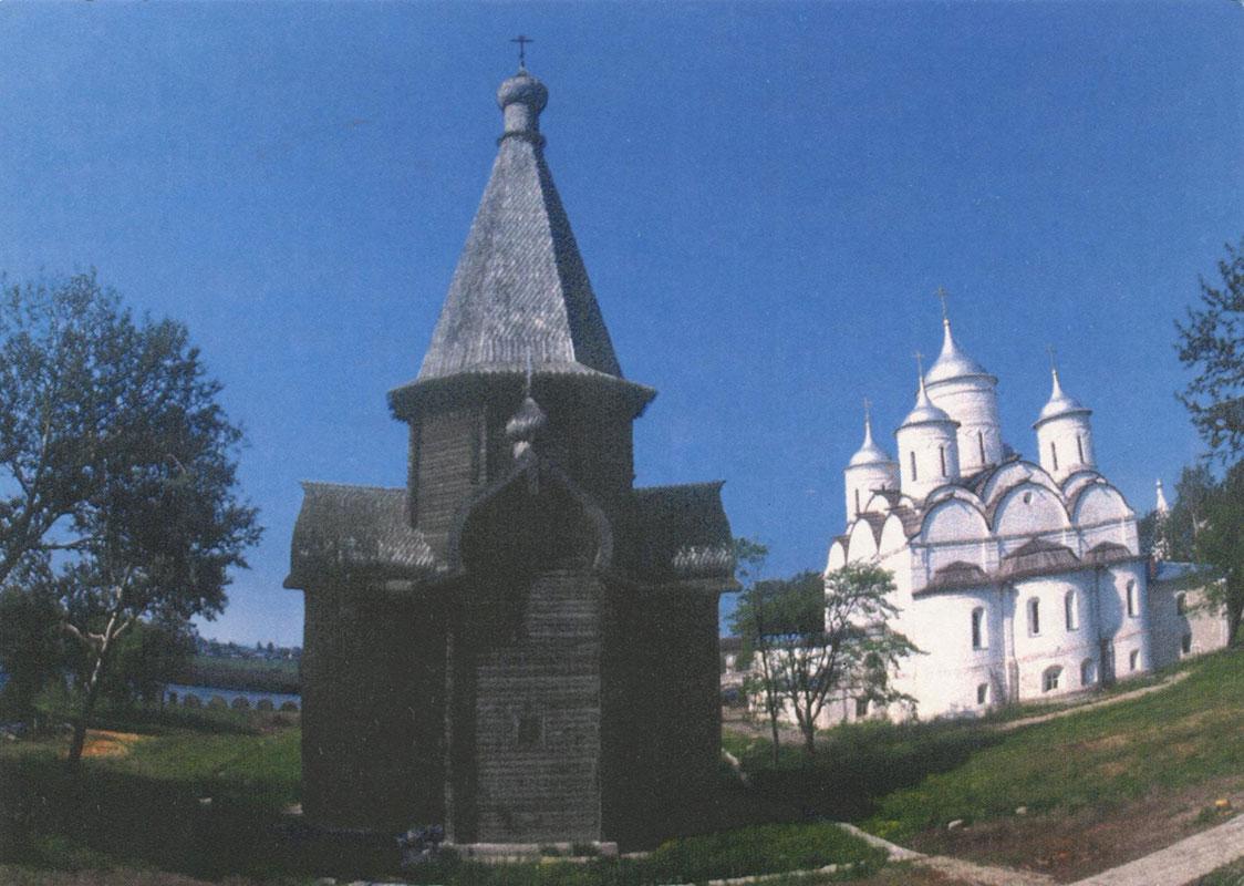 Храм Успения Пресвятой Богородицы из Александро-Куштского монастыря, Вологодская область