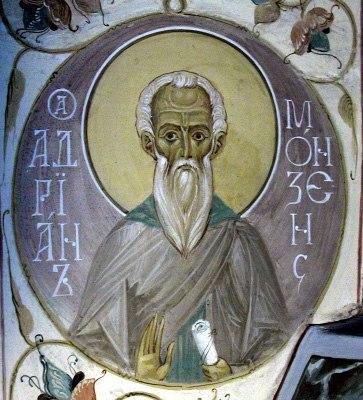 Святой Адриан Монзенский