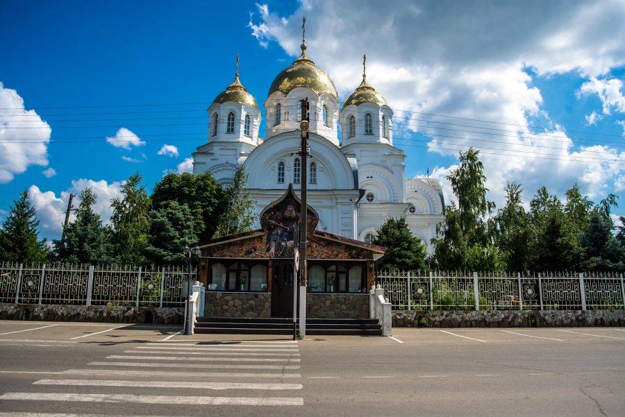 Храм Вознесения Господня в станице Пластуновской, Кубань