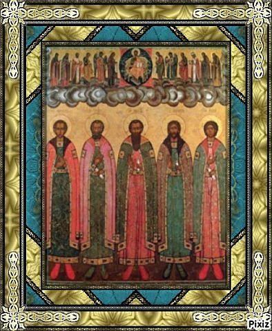 Святые братья Алфановы