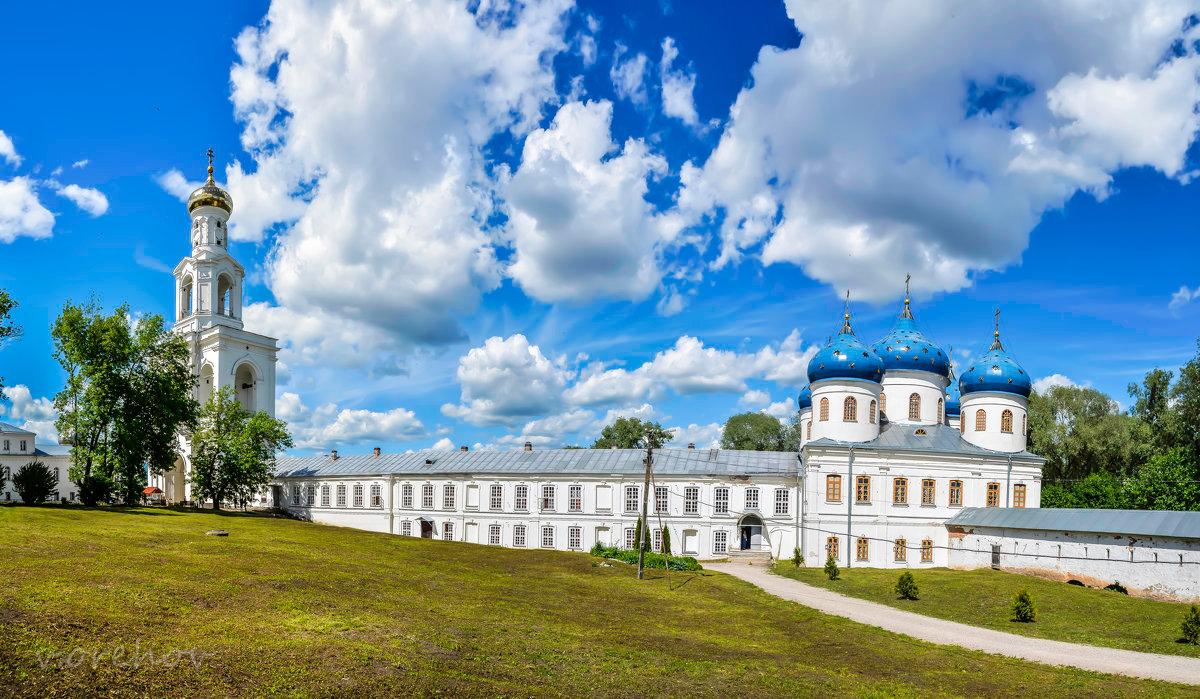 Юрьев мужской монастырь в Новгороде