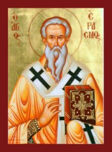 Священномученик Еразм (Элмо)