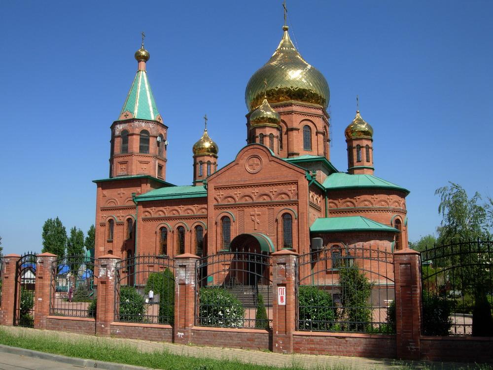 Свято-Троицкий храм в станице Казанской